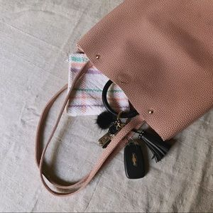 Handbags - Blush Pink Tote